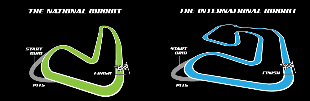 Nutts Corner's two International Circuits